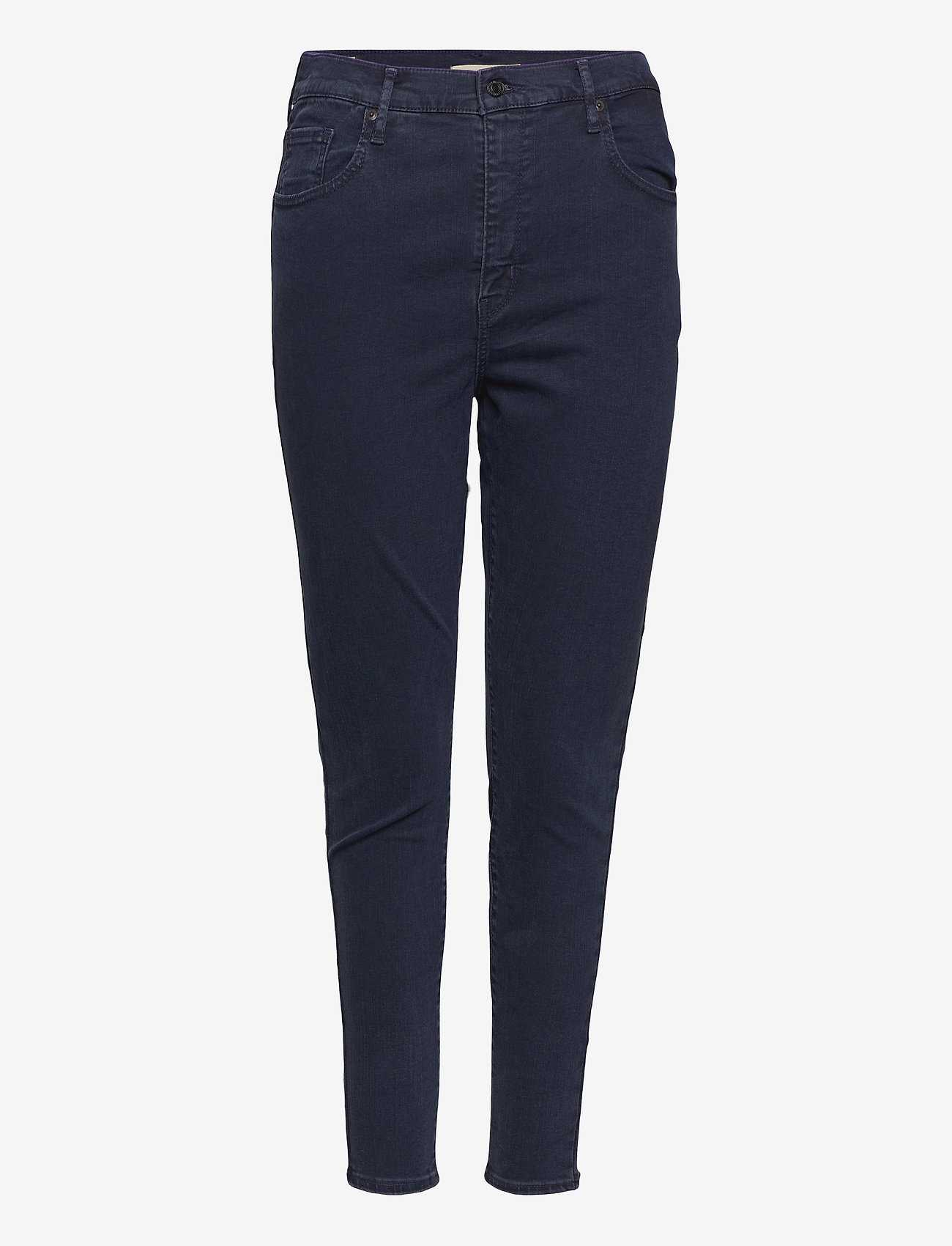 Levi's Plus Size - PLUS MILE HIGH SS BRUISED HEAR - skinny jeans - blacks - 0