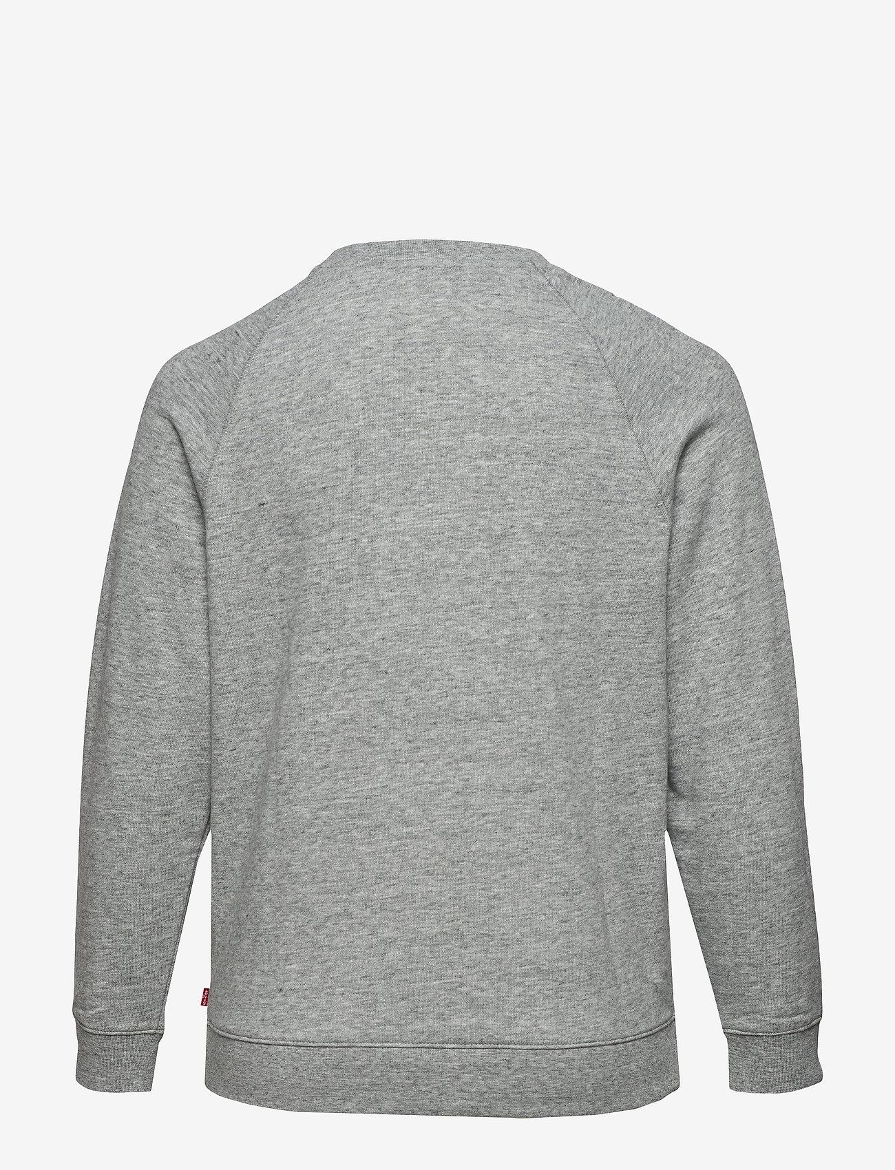 Levi's Plus Size - PL RELAXED GRAPHIC CREW PLUS F - sweatshirts en hoodies - greys - 1