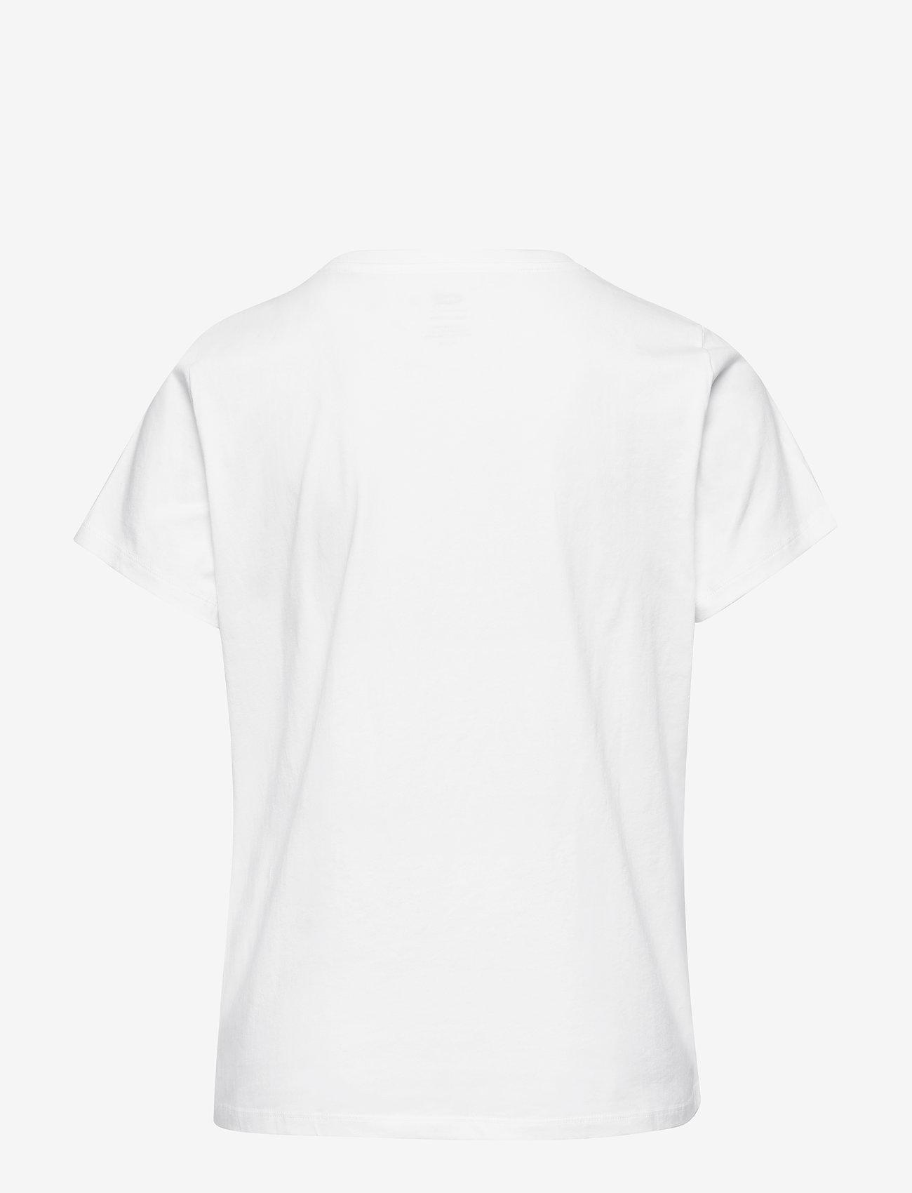 Levi's Plus Size - PL PERFECT CREW WHITE + - t-shirts - neutrals - 1