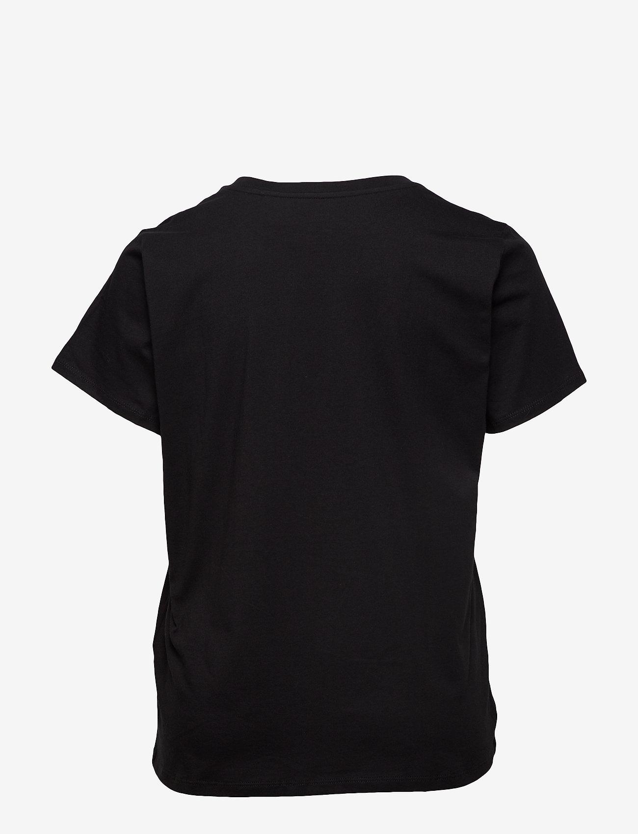 Levi's Plus Size - PL PERFECT CREW MINERAL BLACK - t-shirts - blacks - 1