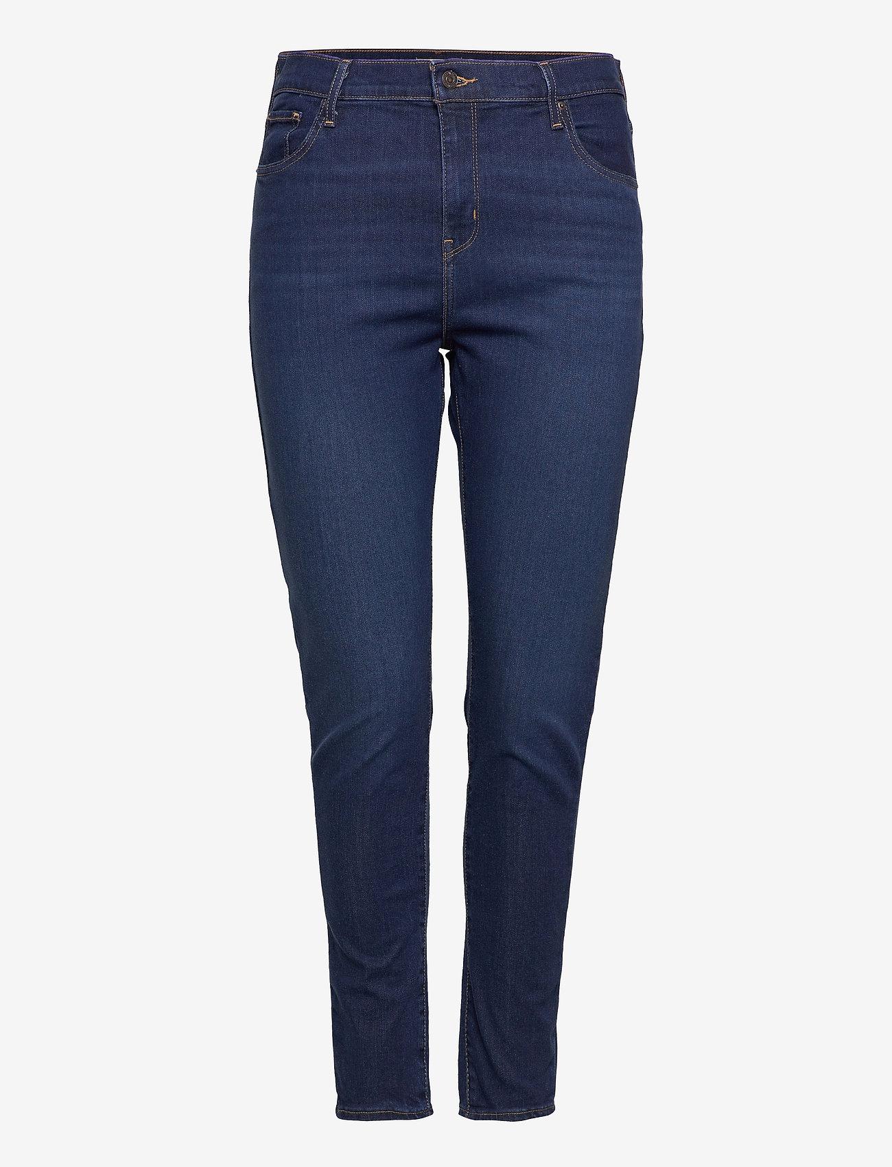 Levi's Plus Size - 721 PL HIRISE SKINNY BOGOTA FE - skinny jeans - dark indigo - worn in - 0