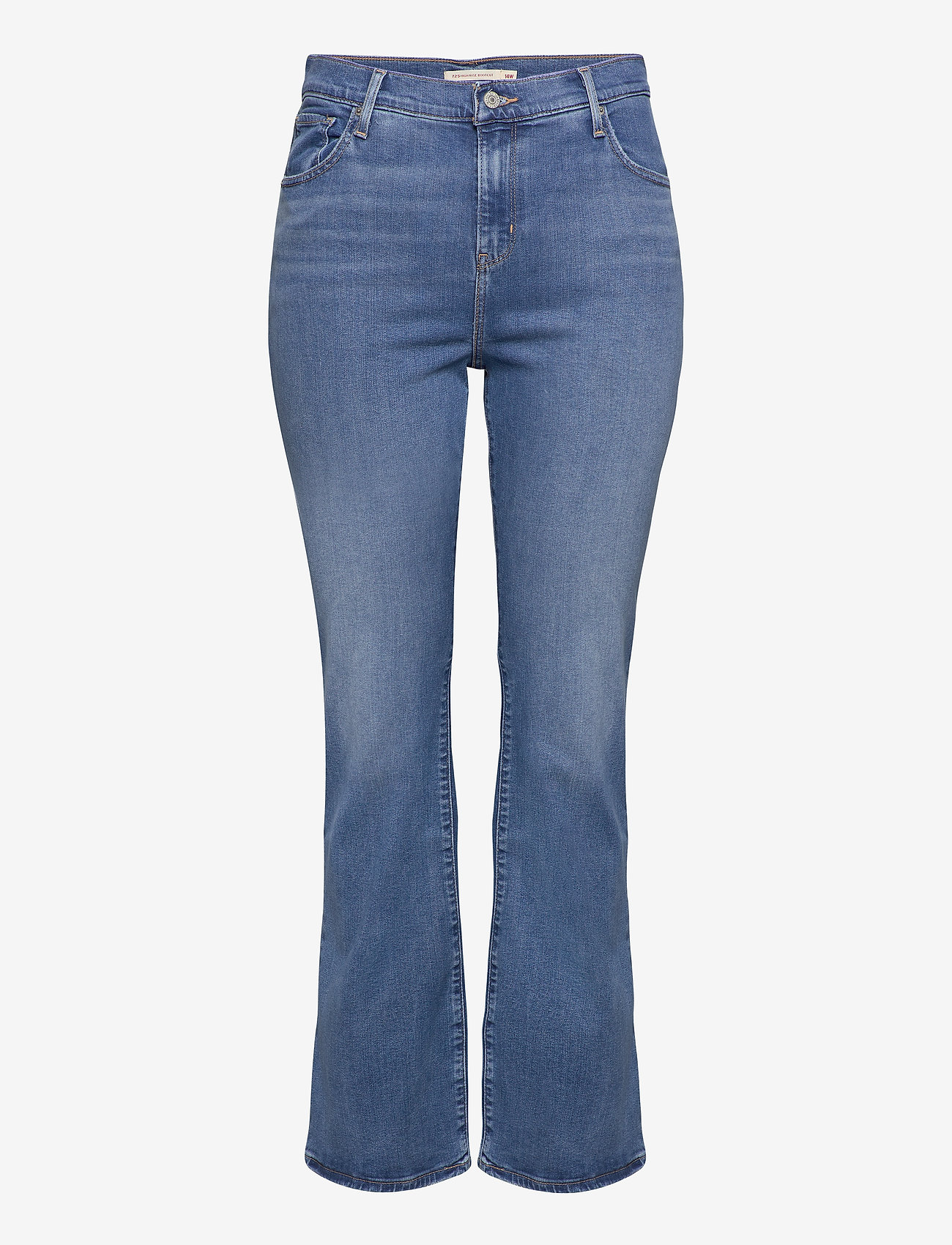 Levi's Plus Size - 725 PL HR BOOTCUT RIO RAVE PLU - bootcut jeans - light indigo - worn in - 0