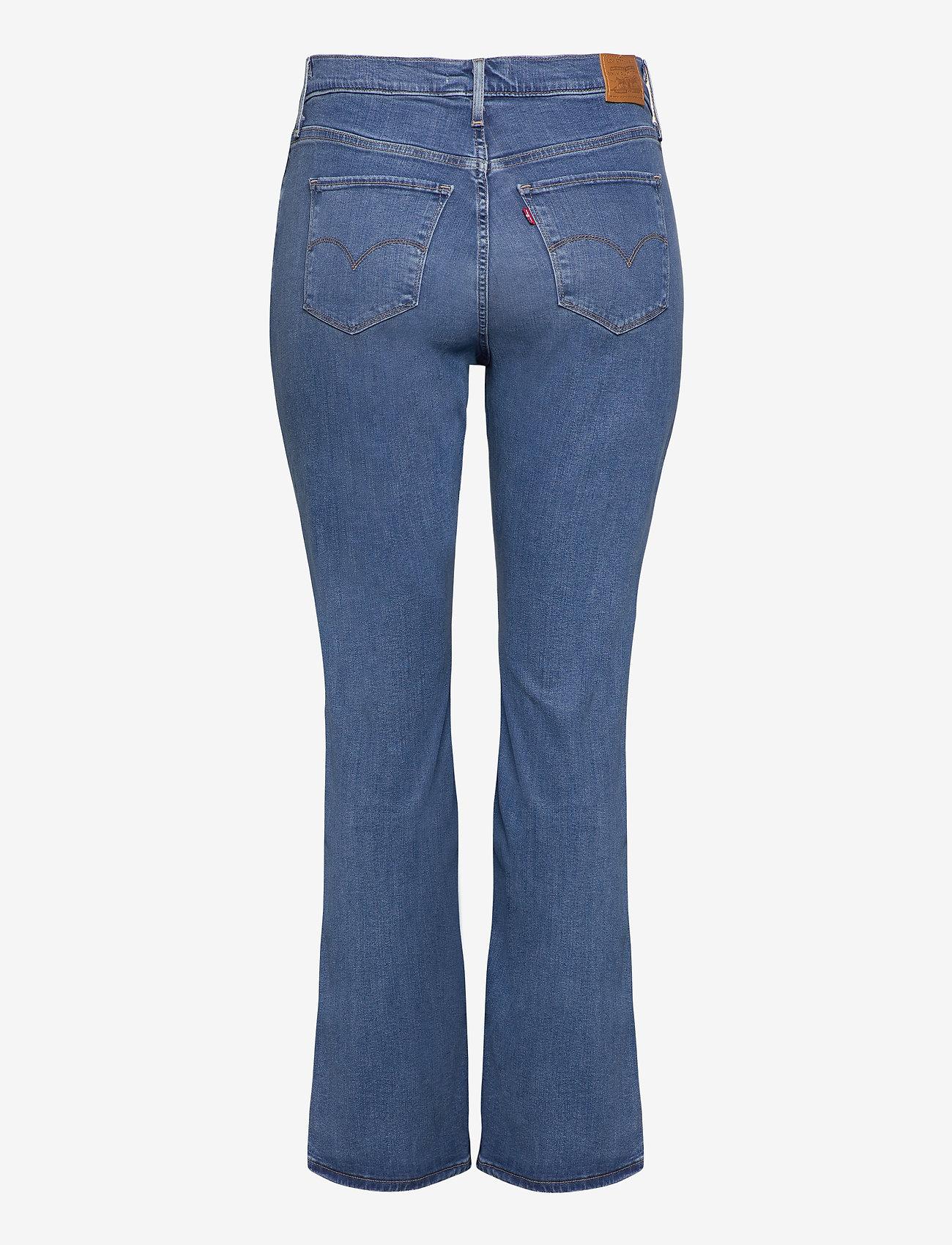 Levi's Plus Size - 725 PL HR BOOTCUT RIO RAVE PLU - bootcut jeans - light indigo - worn in - 1