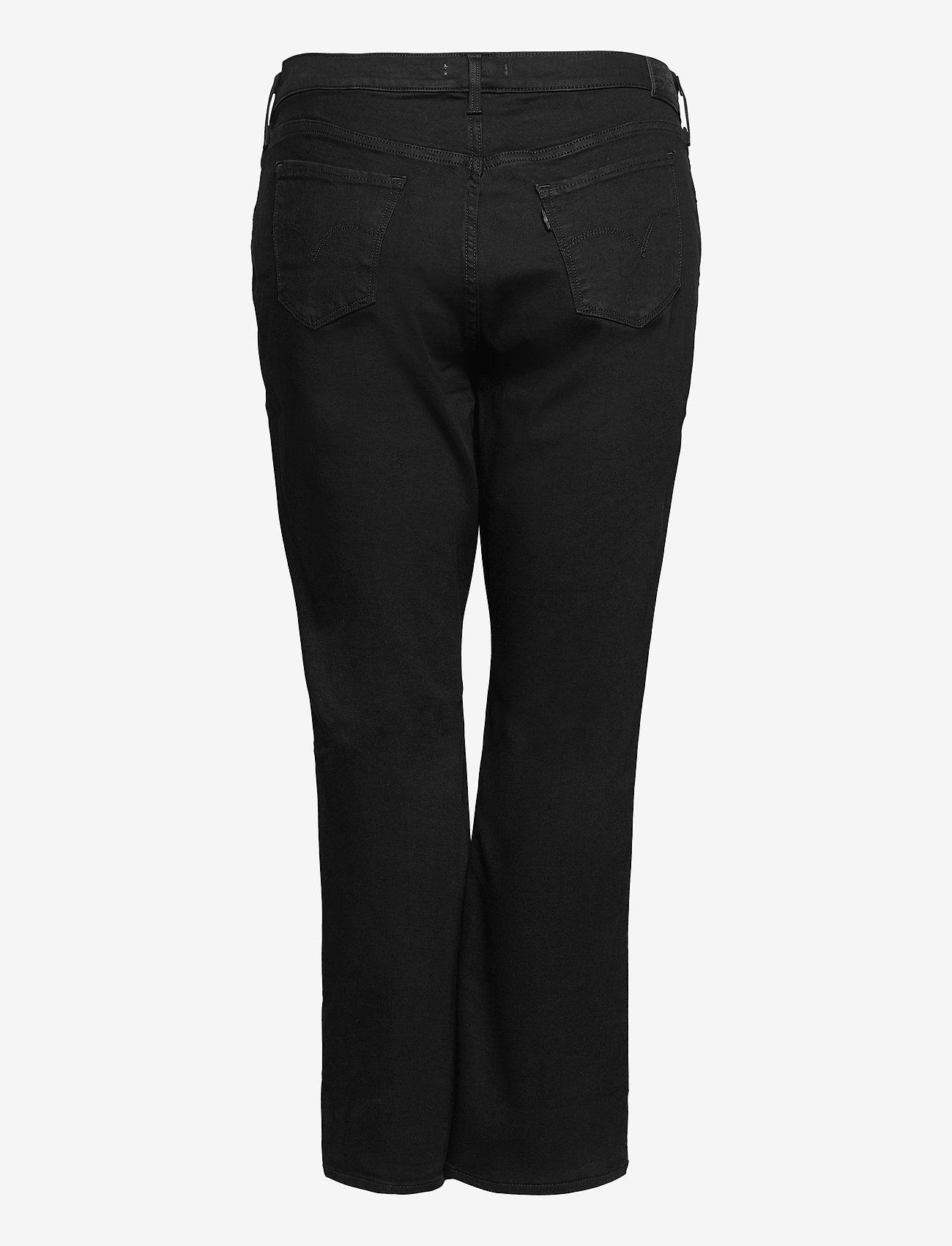 Levi's Plus Size - 314 PL SHAPING STRAIGHT 4X STR - straight jeans - blacks - 1