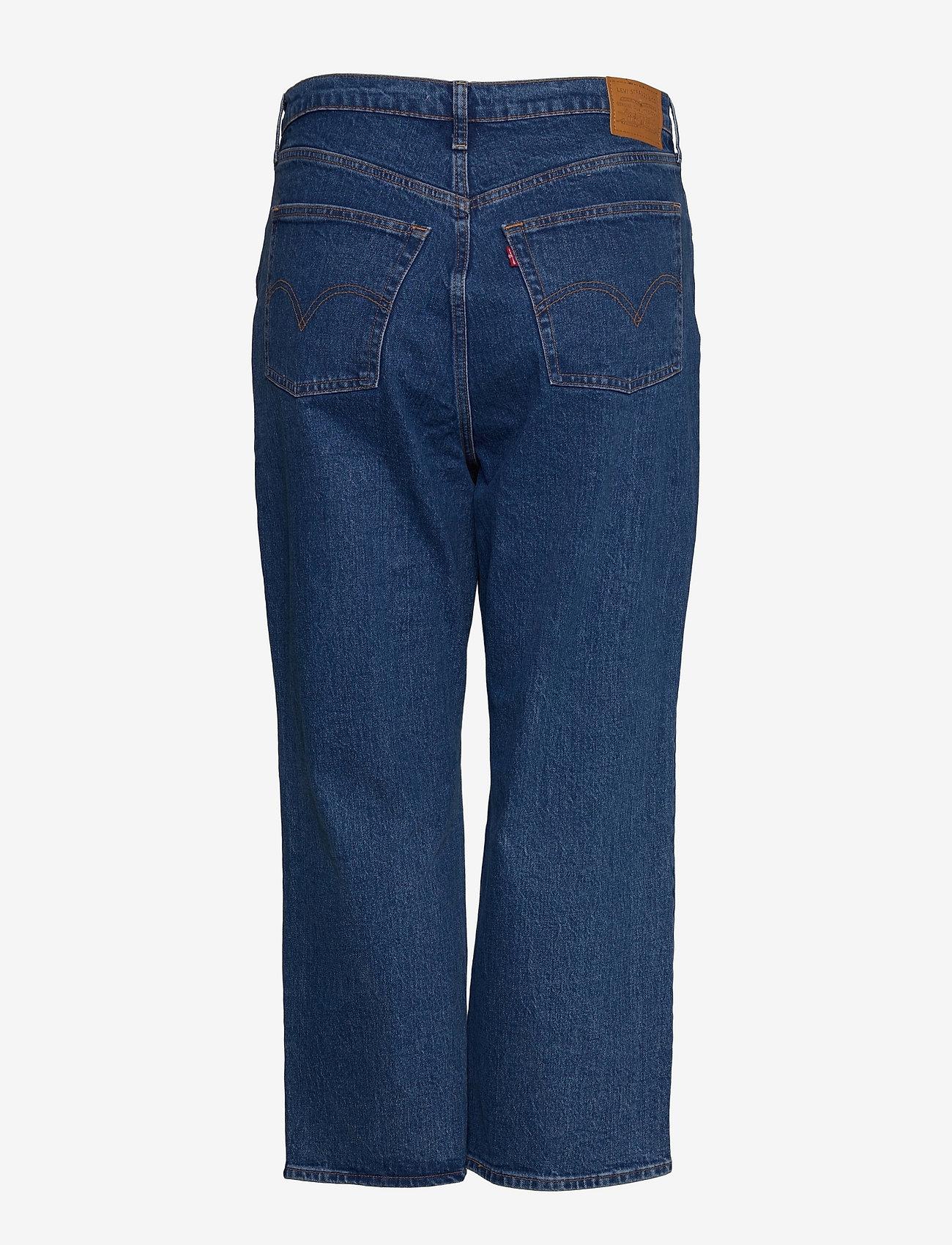 Levi's Plus Size - PL RIBCAGE STRAIGHT ANK JAZZ G - straight jeans - med indigo - flat finish - 1