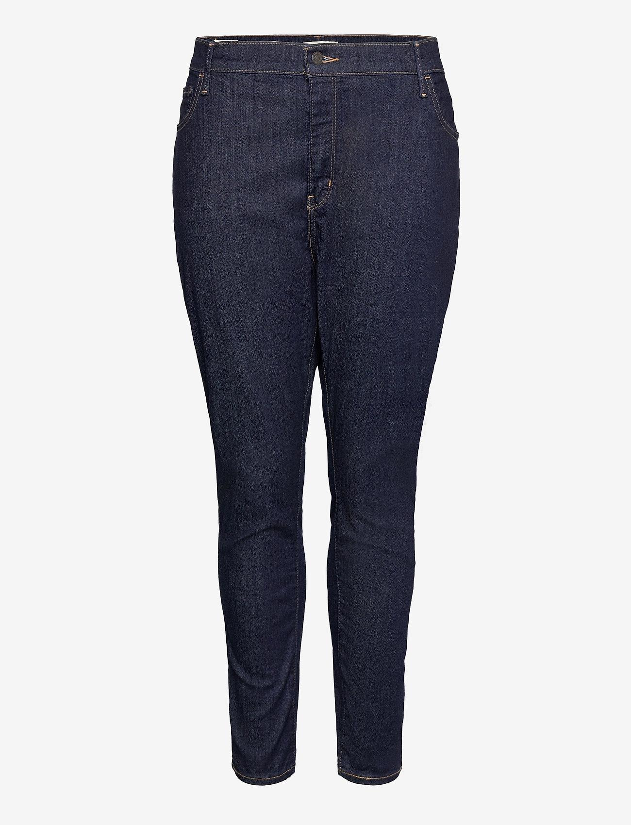 Levi's Plus Size - 720 PL HIRISE SUPER SKNY DEEP - skinny jeans - dark indigo - worn in - 0