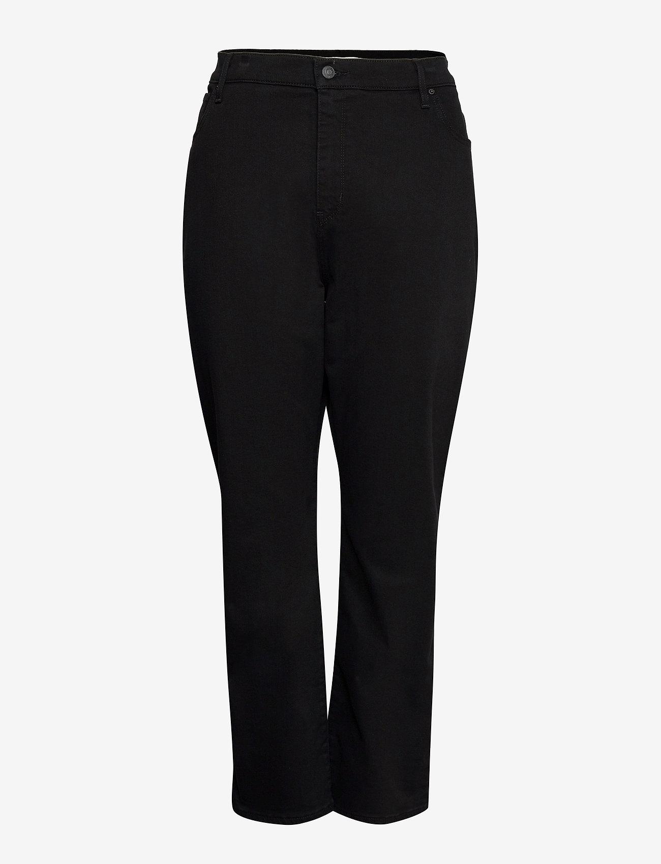 Levi's Plus Size - 724 PL HR STRAIGHT NIGHT IS BL - straight jeans - blacks - 0