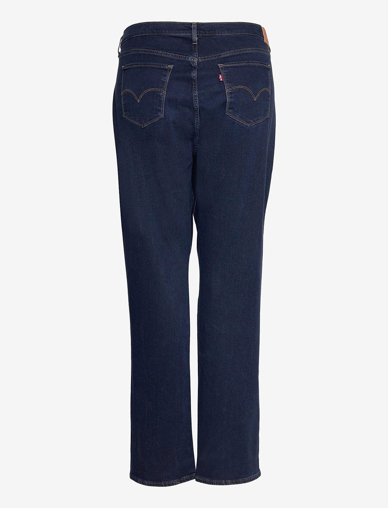 Levi's Plus Size - 724 PL HR STRAIGHT BOGOTA SASS - straight jeans - dark indigo - worn in - 1