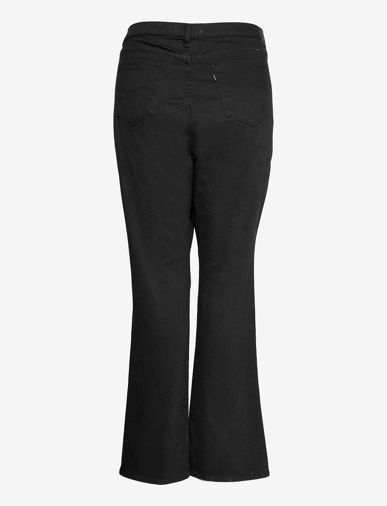 Levi's Plus Size - 725 PL HR BOOTCUT NIGHT IS BLA - bootcut jeans - blacks - 1