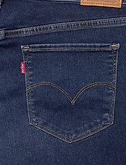 Levi's Plus Size - 314 PL SHAPING STRAIGHT PARIS - straight jeans - med indigo - worn in - 4