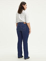 Levi's Plus Size - 315 PL SHAPING BOOT BOGOTA BAB - bootcut jeans - dark indigo - worn in - 3