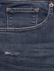 Levi's Plus Size - PL SHAPING BERMUDA PARIS RAIN - med indigo - worn in - 2