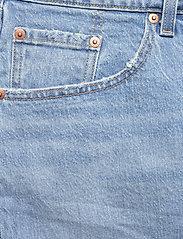 Levi's Plus Size - PL DECONSTRUCTED SKIRT LUXOR H - denim skirts - light indigo - worn in - 2