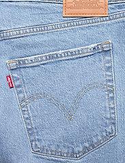 Levi's Plus Size - PL DECONSTRUCTED SKIRT LUXOR H - denim skirts - light indigo - worn in - 4