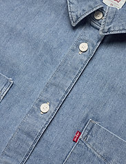 Levi's Plus Size - PL ZOEY PLEAT UTLTY SHRT STAY - jeansblouses - med indigo - flat finish - 2