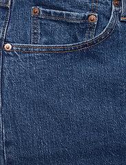 Levi's Plus Size - PL 501 CROP JIVE STONEWASH - straight jeans - med indigo - flat finish - 2