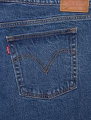 Levi's Plus Size - PL 501 CROP JIVE STONEWASH - straight jeans - med indigo - flat finish - 4