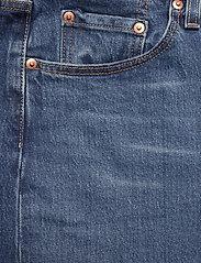 Levi's Plus Size - PL 501 CROP CHARLESTON OUTLAST - boyfriend jeans - dark indigo - worn in - 2