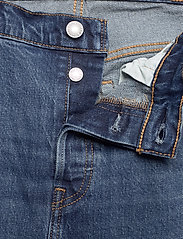 Levi's Plus Size - PL 501 CROP CHARLESTON OUTLAST - boyfriend jeans - dark indigo - worn in - 3