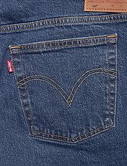 Levi's Plus Size - PL 501 CROP CHARLESTON OUTLAST - boyfriend jeans - dark indigo - worn in - 4