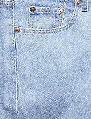 Levi's Plus Size - PL 501 CROP TANGO SURGE PLUS - straight regular - med indigo - worn in - 2