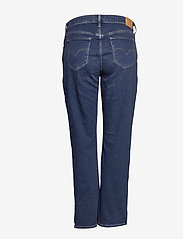 Levi's Plus Size - 314 PL SHAPING STRAIGHT PARIS - straight jeans - med indigo - worn in - 1