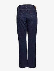 Levi's Plus Size - 314 PL SHAPING STRAIGHT BOGOTA - straight jeans - dark indigo - worn in - 1