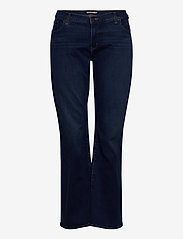 Levi's Plus Size - 315 PL SHAPING BOOT BOGOTA BAB - boot cut jeans - dark indigo - worn in - 1