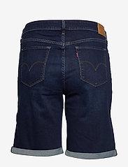 Levi's Plus Size - PL CLASSIC BERMUDA SHORT DARK - bermudas - dark indigo - worn in - 1