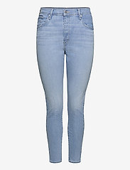 Levi's Plus Size - PLUS MILE HIGH SS GALAXY HAZY - skinny jeans - med indigo - worn in - 0