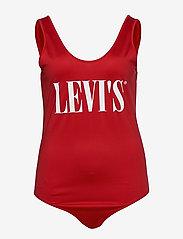 Levi's Plus Size - PL LOGO BODYSUIT PL LOGO BODYS - bodies - reds - 0