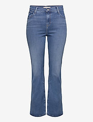 Levi's Plus Size - 725 PL HR BOOTCUT RIO RAVE PLU - boot cut jeans - light indigo - worn in - 0