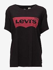 Levi's Plus Size - PL PERFECT TEE MINERAL BLACK - t-shirt & tops - blacks - 1