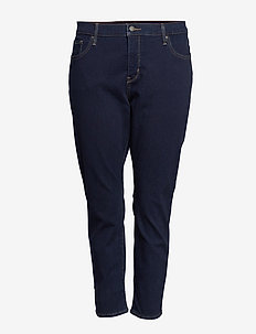 311 PL SHAPING SKINNY OPEN OCE - MED INDIGO - WORN IN