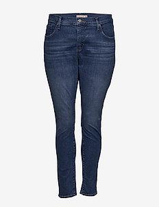 310 PL SHPING SPR SKINNY TEMPO - skinny jeans - med indigo - worn in