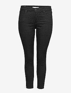 310 PL SHPING SPR SKINNY BLACK - spodnie rurki - blacks
