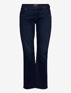 315 PL SHAPING BOOT BOGOTA BAB - bootcut jeans - dark indigo - worn in