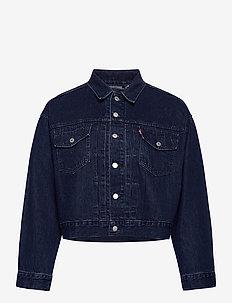 PL HERITAGE TRUCKER EXACT CHAN - denim jackets - dark indigo - flat finish
