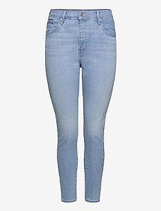 PLUS MILE HIGH SS GALAXY HAZY - skinny jeans - med indigo - worn in