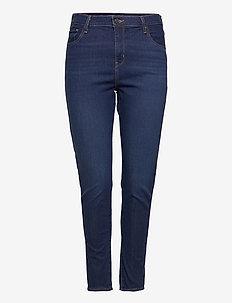 721 PL HIRISE SKINNY BOGOTA FE - skinny jeans - dark indigo - worn in