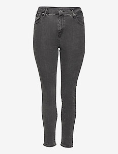 721 PL HIRISE SKINNY TRUE GRIT - skinny jeans - blacks