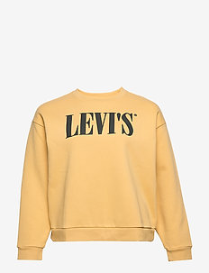 PL GRAPHIC MADISON CREW PL 90S - sweatshirts - yellows/oranges