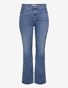 725 PL HR BOOTCUT RIO RAVE PLU - boot cut jeans - light indigo - worn in