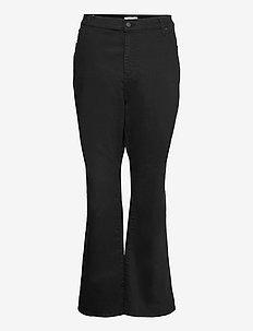 725 PL HR BOOTCUT NIGHT IS BLA - bootcut jeans - blacks