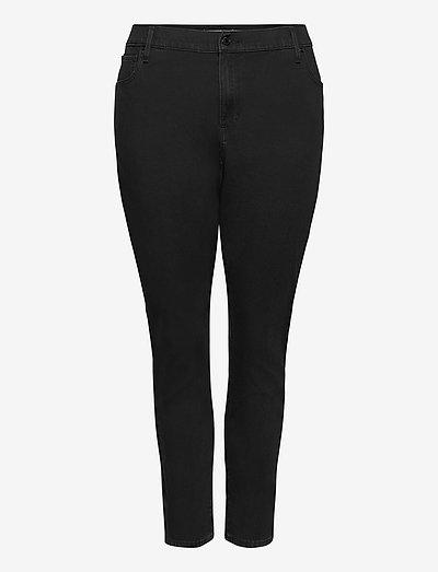 721 PL HIRISE SKINNY LONG SHOT - skinny jeans - blacks
