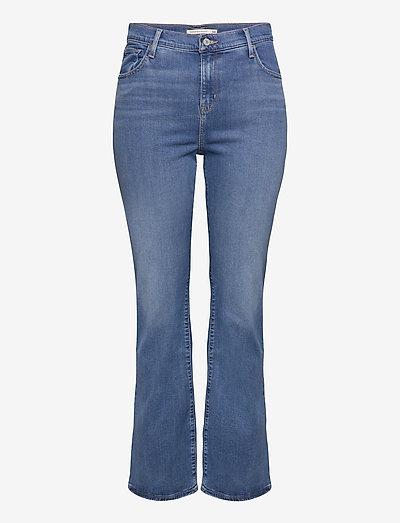 725 PL HR BOOTCUT RIO RAVE PLU - bootcut jeans - light indigo - worn in