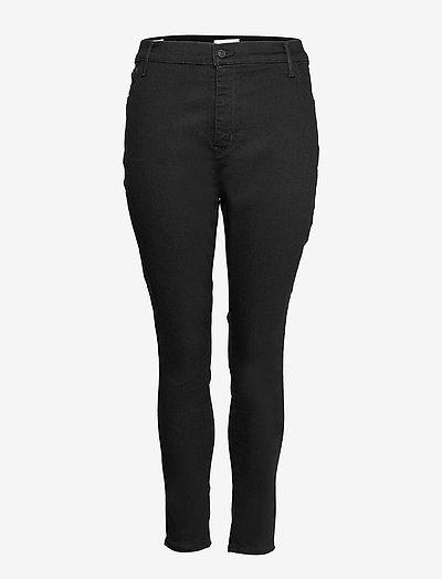 720 PL HIRISE SUPER SKNY BLACK - skinny jeans - blacks