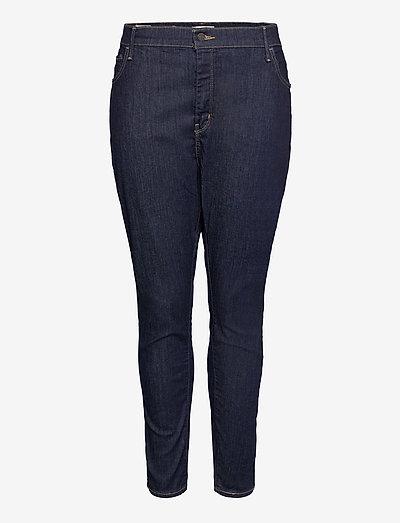 720 PL HIRISE SUPER SKNY DEEP - skinny jeans - dark indigo - worn in