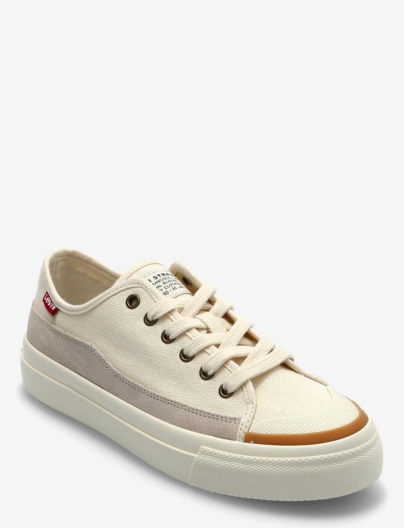 Levi's Shoes - SQUARE LOW S - lave sneakers - ecru - 0