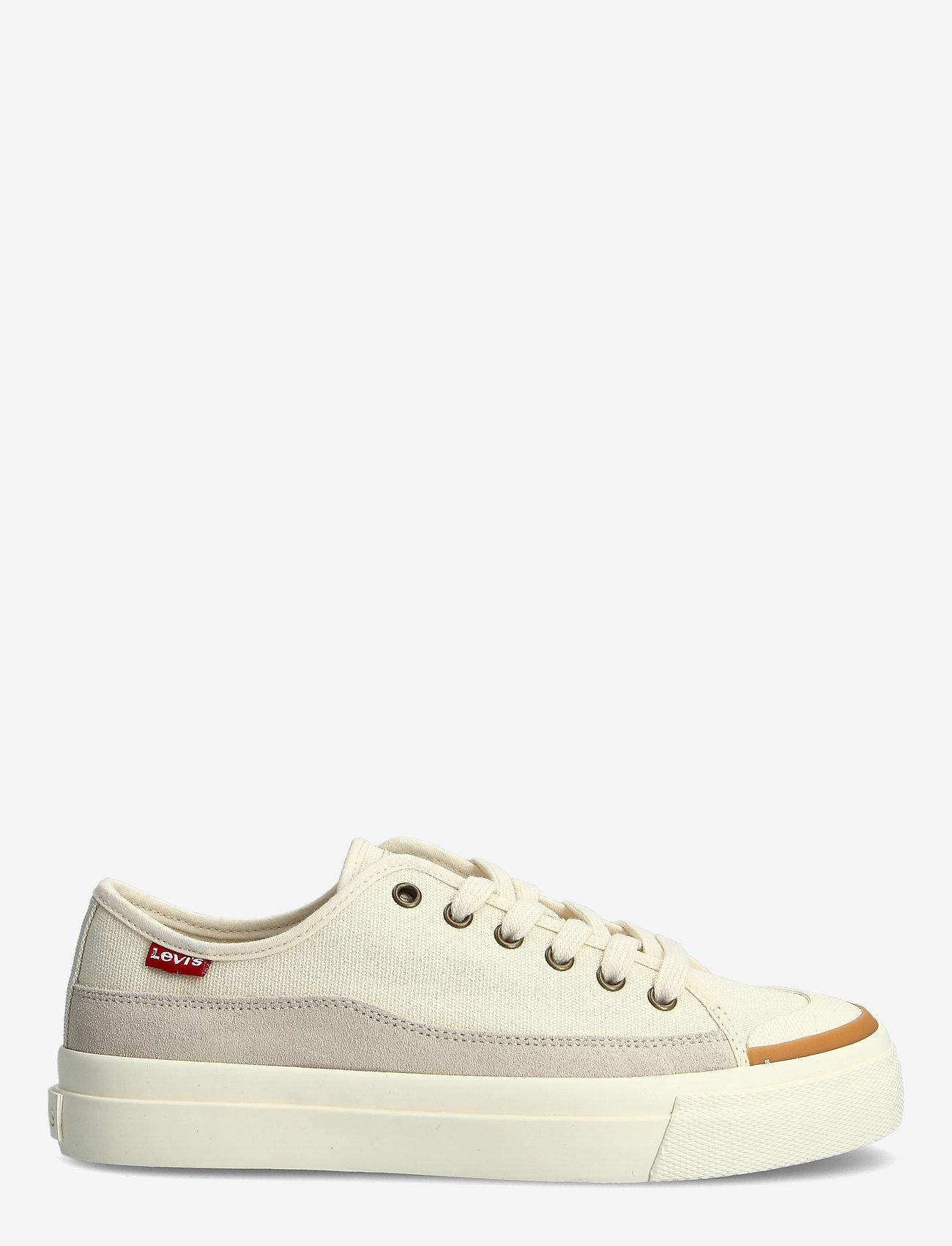 Levi's Shoes - SQUARE LOW S - lave sneakers - ecru - 1